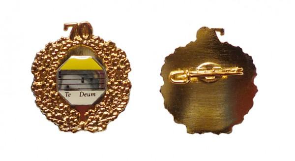 Ehrennadel mit Goldkranz 70