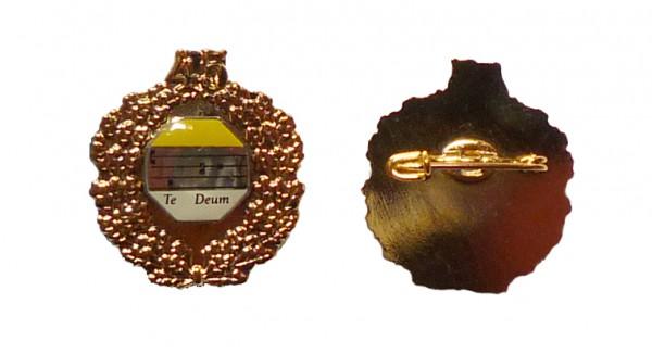 Ehrennadel mit Goldkranz 45