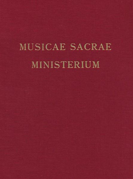Band 05 Musicae sacrae ministerium - Beiträge zur kirchenmusikalischen Erneuerung im 19. Jahrhundert