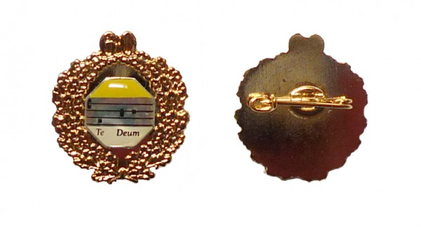 Ehrennadel mit Goldkranz 60