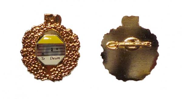 Ehrennadel mit Goldkranz 50