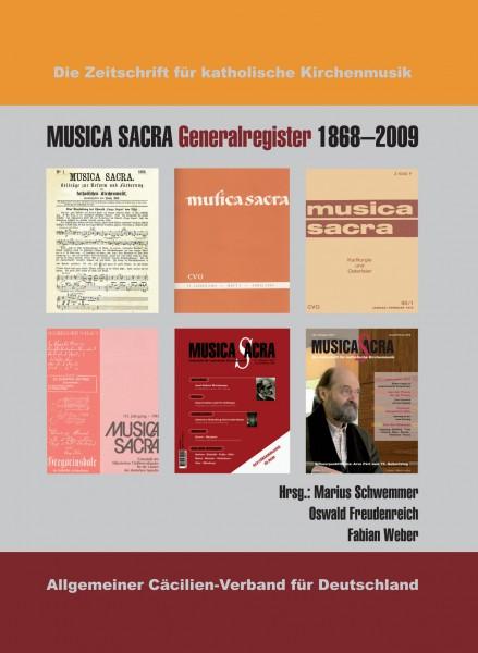 Band 18 MUSICA SACRA Generalregister